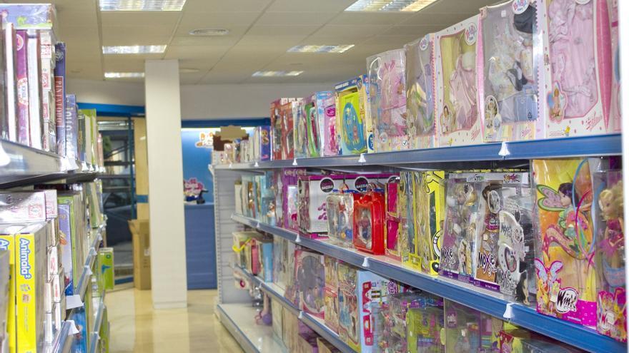 Interior de tienda De Juguetes