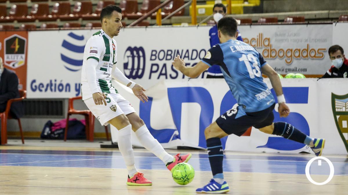 Boyos, en un encuentro con el Córdoba Patrimonio