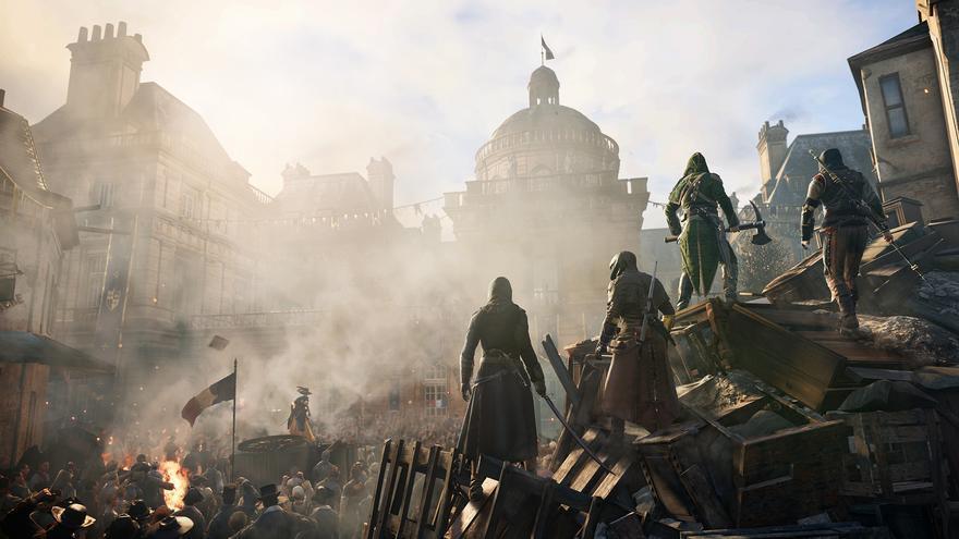 Assassin's Creed Unity cooperativo