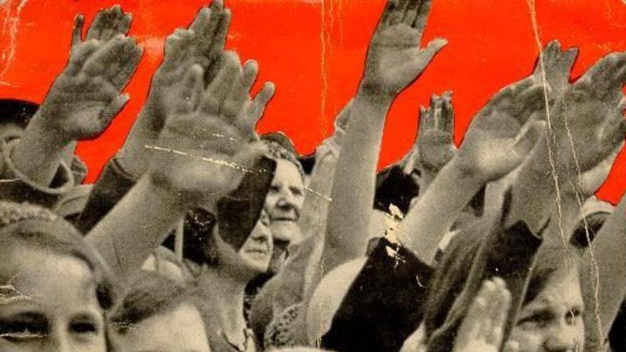 Propaganda nazi de la Fiesta Nacional del Pueblo Alemán