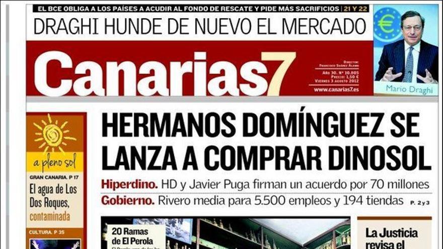 De las portadas del día (03/08/2012) #2