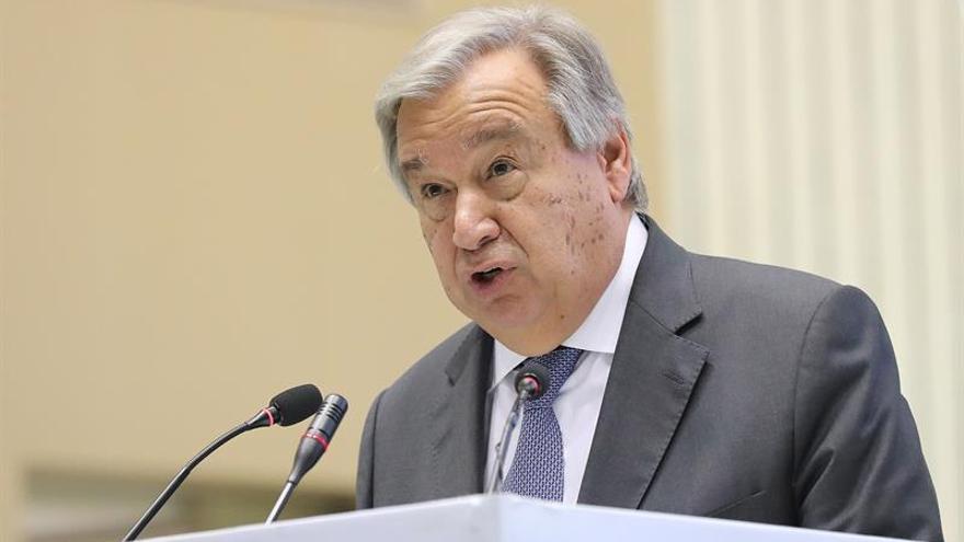 """Guterres pide """"moderación"""" a las partes ante la escalada de la violencia en Gaza"""
