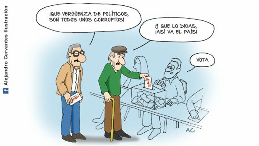 Votando al PP