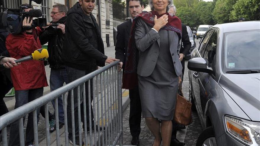 Lagarde declara de nuevo ante los jueces franceses que la investigan por presunta malversación