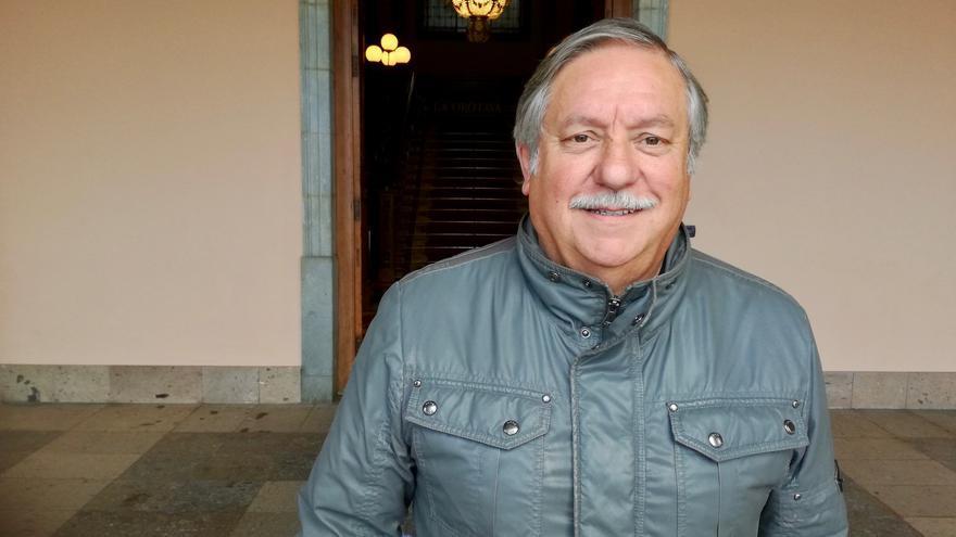 Raúl González, actual concejal de Unidos Sí Podemos en La Orotava