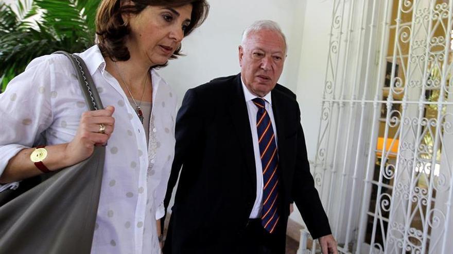 El ministro español de Exteriores se reúne en La Habana con la canciller colombiana