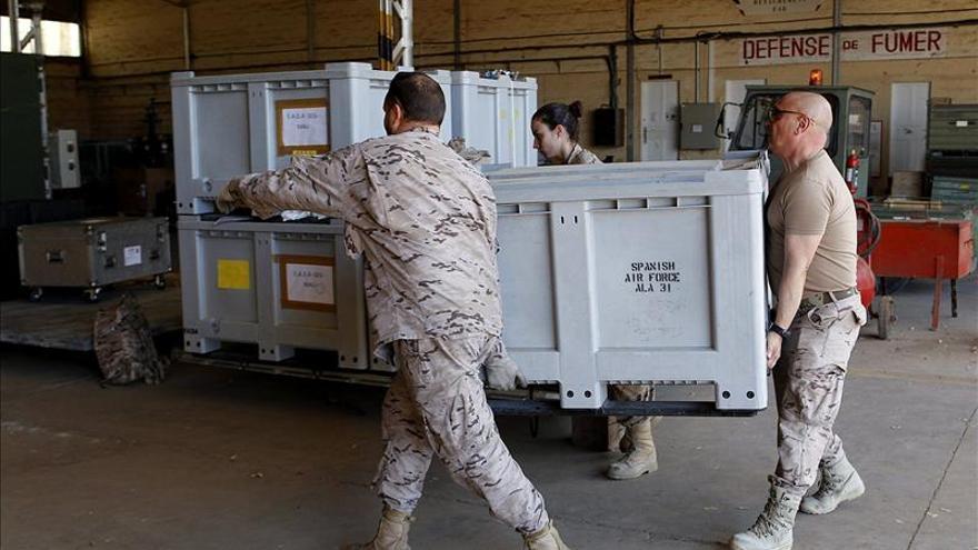 El Hercules español desplegado en la operación de Mali realiza su segunda misión