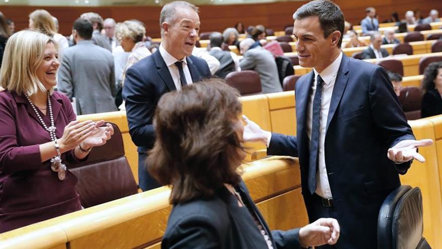 Sánchez: con este Gobierno llega la política migratoria, que antes no existía