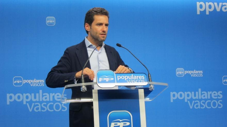 """PP vasco dice que el """"gran reto"""" es """"reconocer a las víctimas de ETA"""" y """"a las víctimas injustas que se han producido"""""""