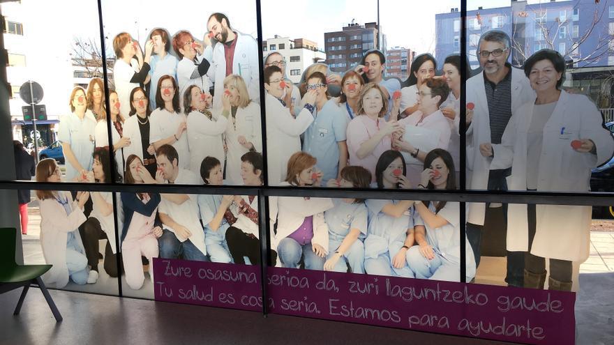 Equipo del centro de salud de Zabalgana, en Vitoria.