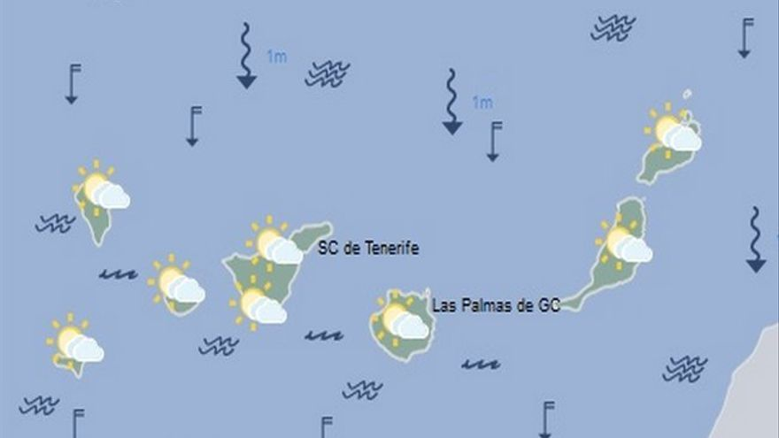 Mapa meteorológico de la Aemet para el domingo 28 de agosto