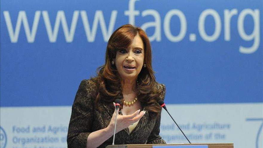Cristina Fernández dice que las políticas públicas erradicaron el hambre en Argentina