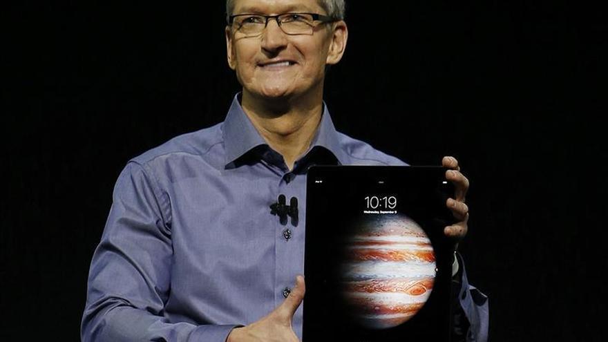 Apple presenta un modelo de iPad de gran tamaño, el iPad Pro