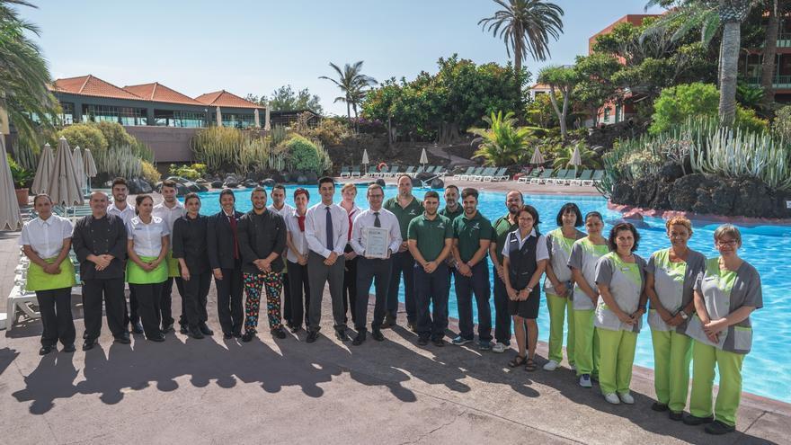 Premio al Hotel Hacienda San Jorge.