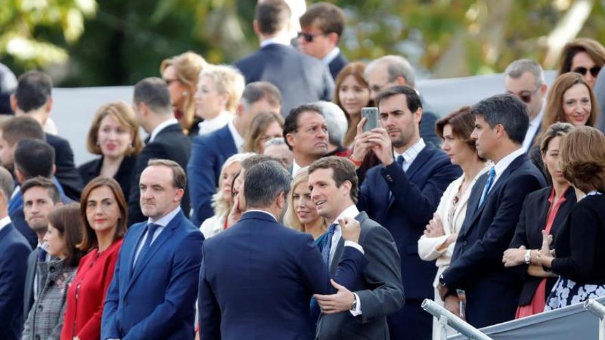 Pablo Casado felicita la Fiesta Nacional a todos los españoles