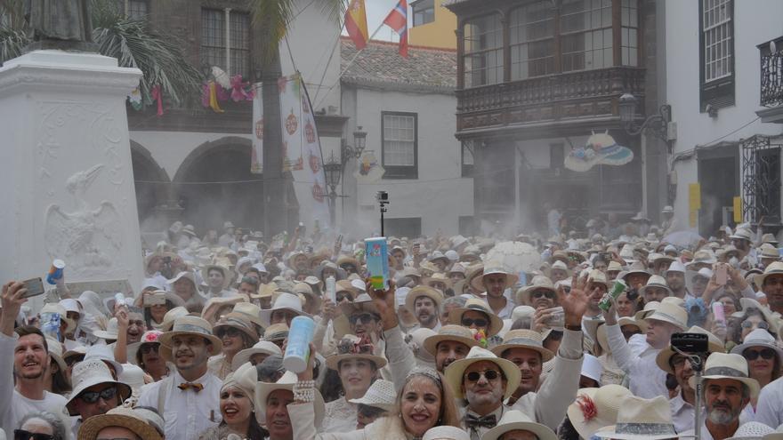 Imagen de archivo de Los Indianos en la Plaza de España.