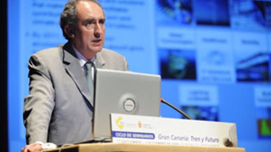 Juan Carlos Lorenzo, director general de la división Mobility de Siemens. (CANARIAS AHORA)