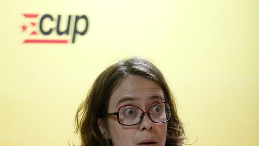 La CUP considera que las notificaciones del Constitucional no tienen ningún efecto