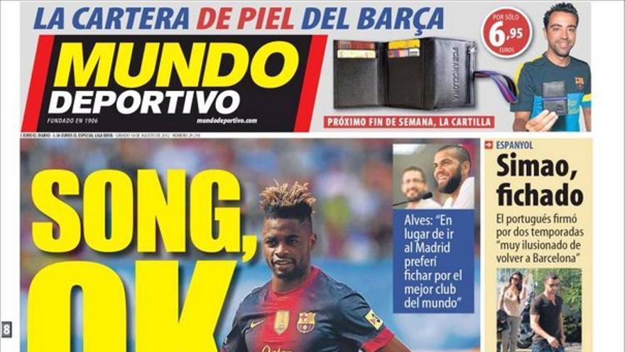 De las portadas del día (18/08/2012) #13