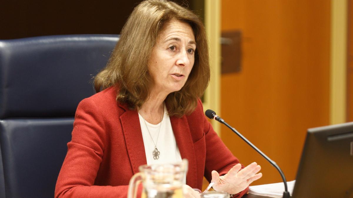 La fiscal superior del País Vasco, Carmen Adán.