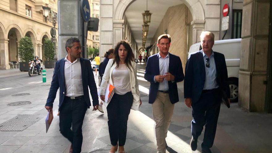 El equipo negociador de Ciudadanos con Luis Salvador a la cabeza | Leo Rama