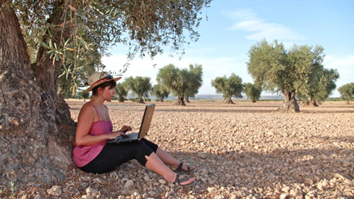 Mujer en el área rural