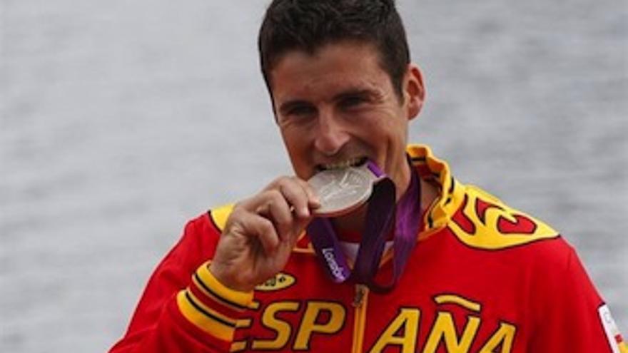 El gallego se convierte en el máximo medallista español de la historia. (Europa Press)