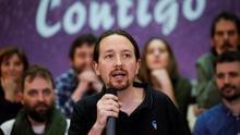 Pablo Iglesias, reelegido para un tercer mandato como secretario general de Podemos con el 92% de los votos