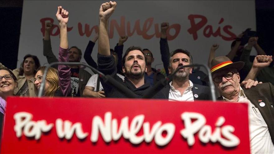 Garzón busca el voto andaluz para ser fuerte en el Congreso y parar a la derecha
