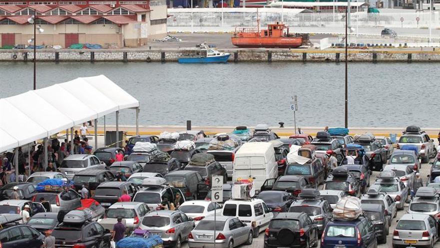 La OPE mantiene la normalidad en embarques con 183.000 viajeros acumulados
