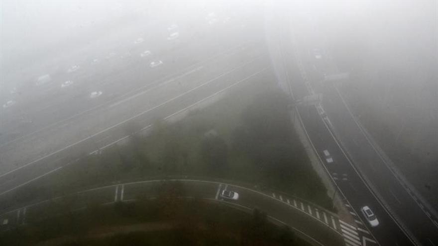 21 provincias de 8 comunidades autónomas en alerta por nieblas