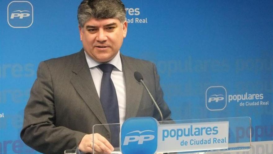 Carlos Cotillas, alcalde de Tomelloso (Ciudad Real) y presidente del PP en la provincia de Ciudad Real / Foto: Europa Press