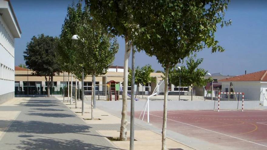 El colegio público Gabriel Miró, en Calp.