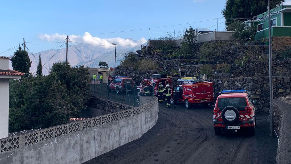 Bomberos de Tenerife se retiran de Todoque