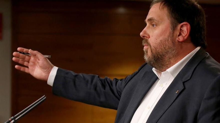 El vicepresident y conseller de Economía, Oriol Junqueras