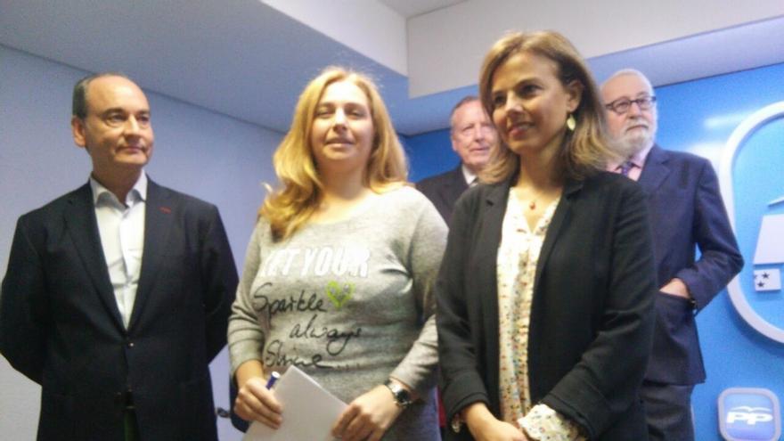 """Almudena Maíllo explica que contrató como asesora a una hermana de Aguirre por """"currículo, cualidades y capacidad"""""""