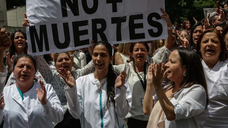 Muere un joven durante una protesta en Venezuela