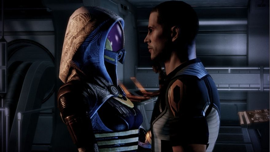 Mass Effect pedida de mano