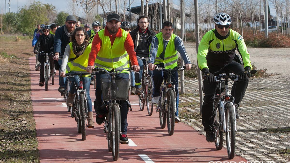 Iniciativa 'A la UCO en bici'