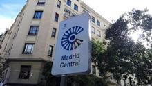"""Carmena dice que el arranque de Madrid Central es """"inevitable"""" y que empezarán a sancionar en febrero"""