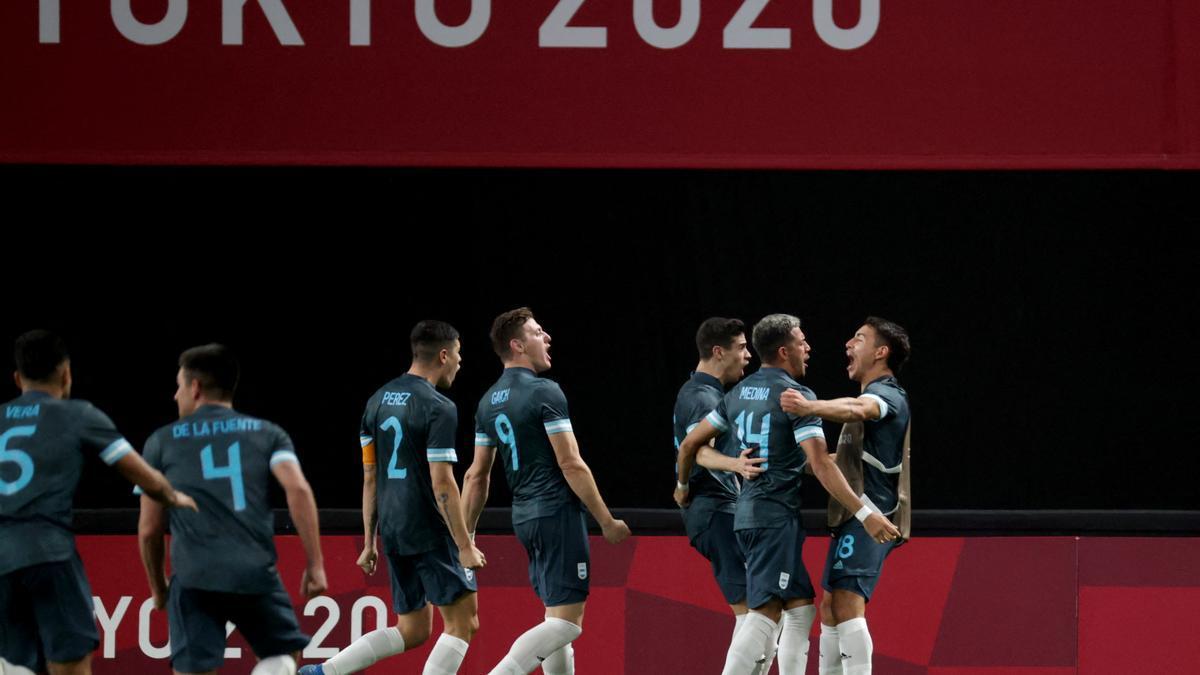 Argentina le ganó a Egipto 1-0