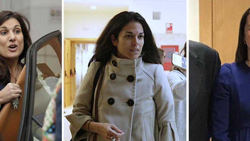 De izquierda a derecha Clara Souto, Cecilia Rosado y Alicia López de los Mozos