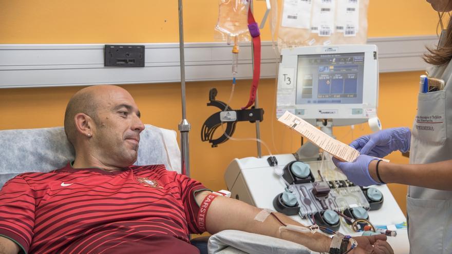 El Banco de Sangre y Tejidos de Navarra busca crear un grupo estable de al menos 500 donantes de plasma