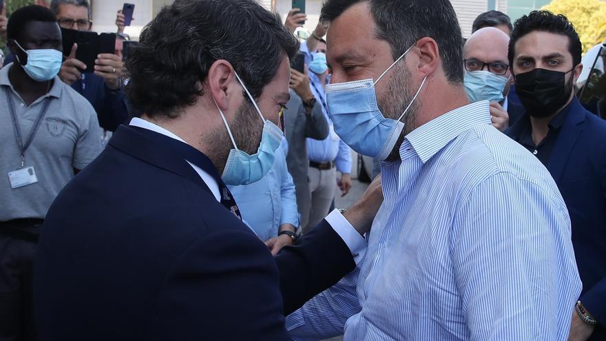 Salvini arropa al ultraderechista portugués Chega