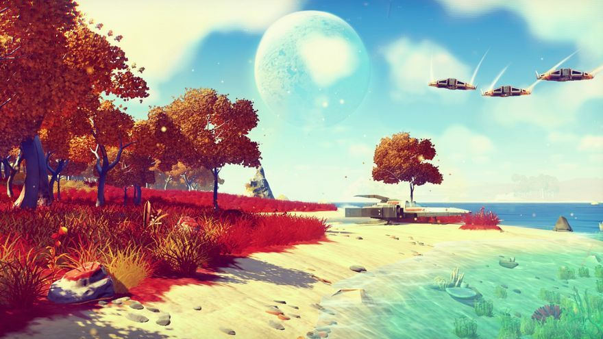No Man's Sky exclusivo PS4