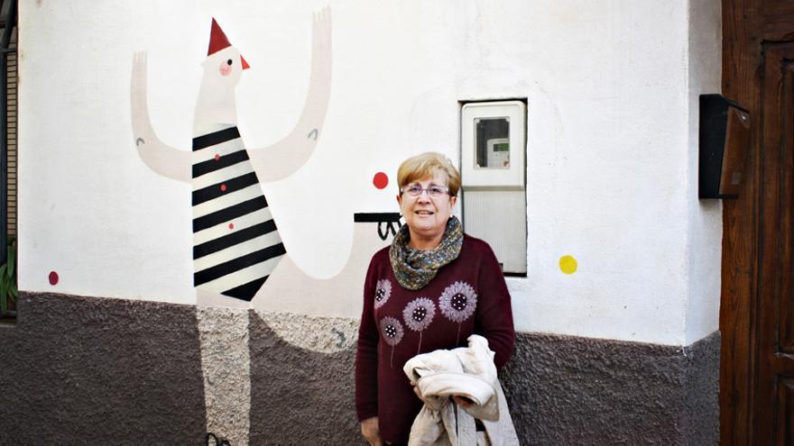 Susie-Hammer en el Museo Inacabado de Arte Urbano   Foto: Rafa Gassó