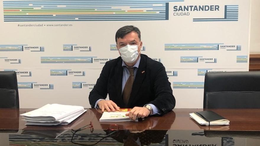 El concejal de Vox en el Ayuntamiento de Santander, Guillermo Pérez-Cosío