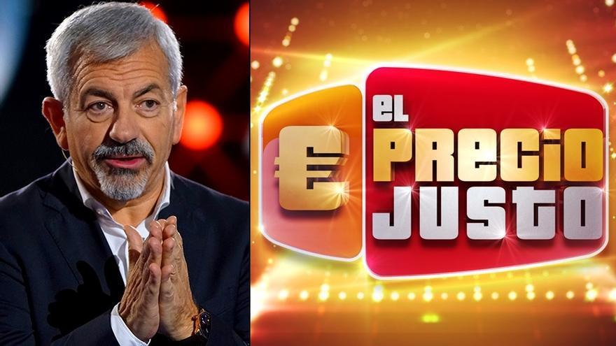 Carlos Sobera presentará 'El precio justo'