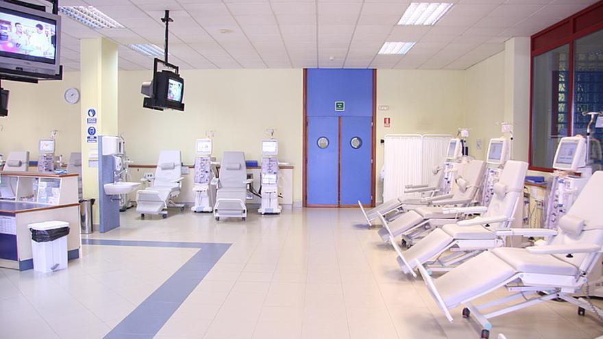 Sede de Fresenius en el Gran Zoco Santander, con capacidad para 49 puestos con cinco turnos diarios.