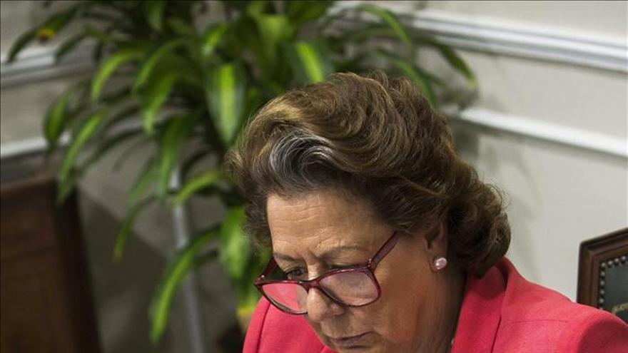 El PSPV insiste en que Barberá tiene responsabilidades políticas en Nóos